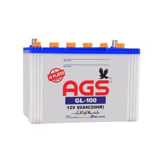 AGS GL 100, 15 Plate, 80AH