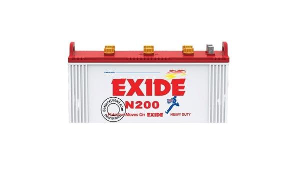 Exide 200, exide battery,23plates,170AH-min