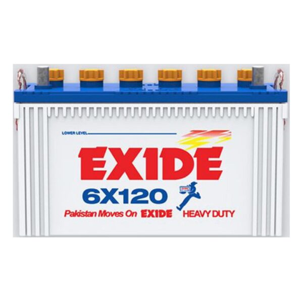 Exide 6X 120 buy online Battery Ustad, exide battery , exide 120, exide 108 ah , exide 15 plate, exide battery in islamabad , exide battery in dha , battery in isb , battery in lahore , free installation , free delivery