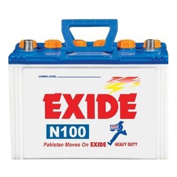 Exide N 100 - buy online - Battery Ustad, exide battery , exide 100 , exide n 100, exide 75 ah , exide battery in isb , 100 batteyr , free installation , free delivery