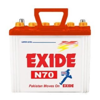 Exide N 70 buy online Battery Ustad, exide 9 plates , exide 50 ah , exide n 70 , exide battery in lahore , exide battery in islamabad , exide n 70 , n 70 battery