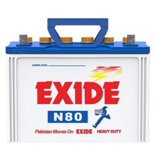 Exide N 80 buy online Battery Ustad