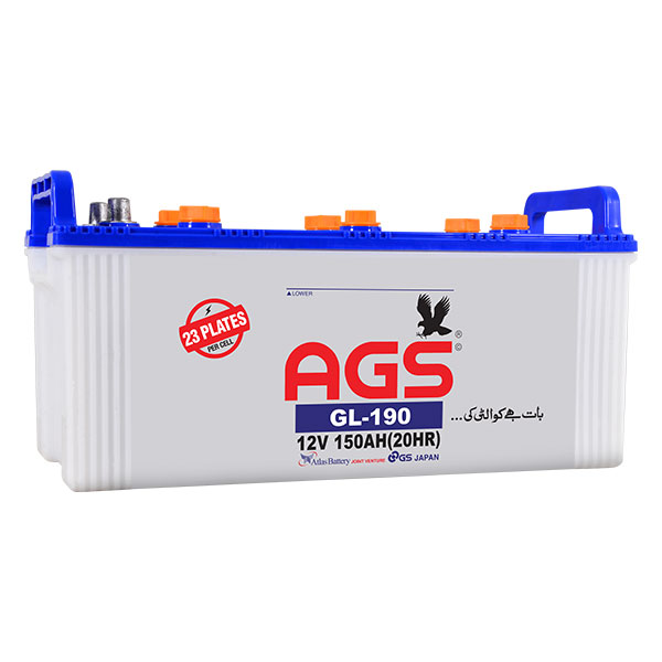 ags 190 price ,GL-190, ags battery , ags 190, ags 23 Plates, ags 150ah , ags battery in islamabad, ags battery in pindi, ags battery in rawalpindi , ags battery in lahore, ags battery in lhr, ags battery in karachi