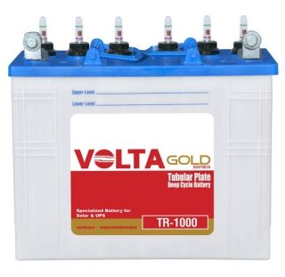 Volta Battery TR1000 - 06 month Warranty