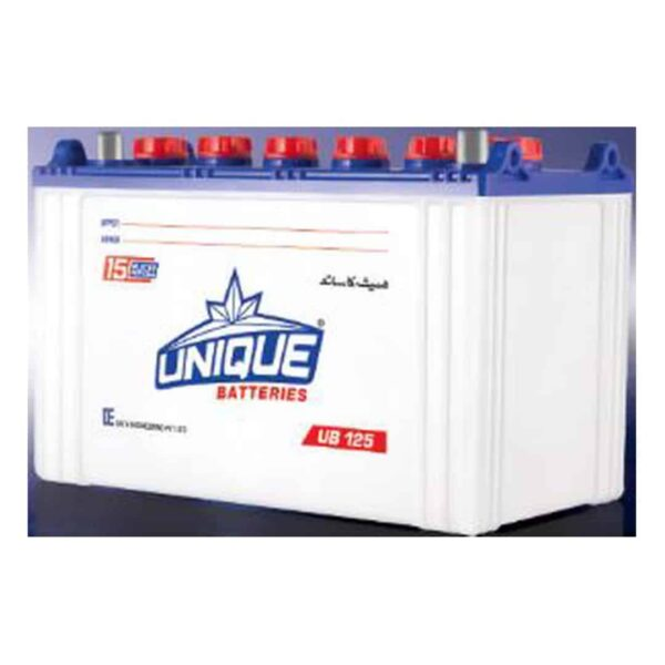 Buy Unique UB 125 Battery Online Battery Ustad