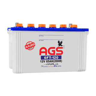 ags 6ft 120, ags 120, 85 ah ags battery, inverter battery, solar battery, ags battery in islamabad ,