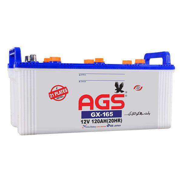 AGS GX-165, 120 ah, 21 plates