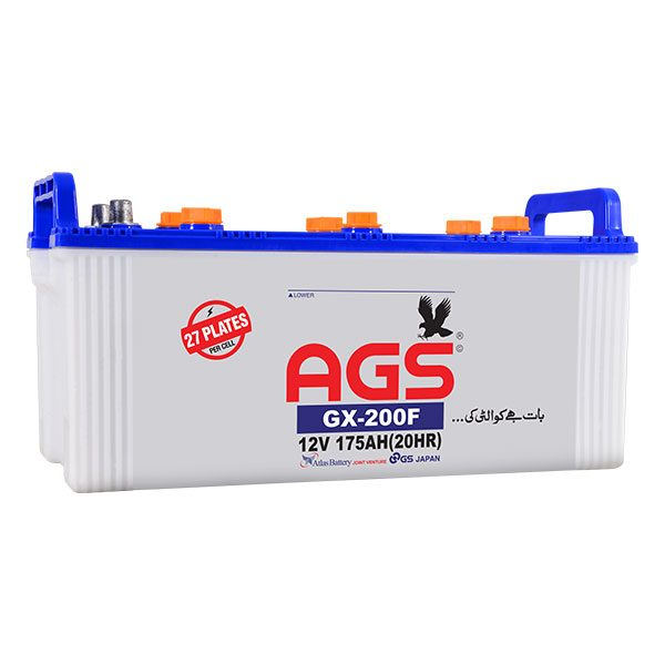 AGS 200 27PLATES BATTERY 175 AH AGS BATTERY,ONLINE ORDER, BATTERY IN ISLAMABAD, BATTERY