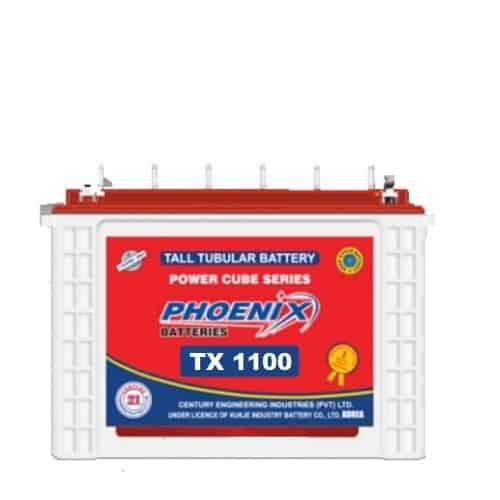 Phoenix tx 1100, tx 1100, phoenix tall tubular battery, phoenix 125 ah tubular battery, _BEST_PRICE_BATTERYUSTAD_ISLAMABAD_RAWALPINDI_LAHORE_MULTAN_FAISLABAD_FSD_ISB_LHR, , prado dry battery , online order, home delivery, free installation , battery in Islamabad