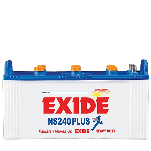 NS240_PLUS_12_VOLTS_27_PLATES_190_AH_EXIDE_BATTERY_LEAD_ACID_BEST_PRICE_BATTERYUSTAD_ISLAMABAD_RAWALPINDI_LAHORE_MULTAN_FAISLABAD_FSD_ISB_LHR,Exide battery in isb, Exide battery in Islamabad, Exide battery in Rawalpindi, Exide battery in multan, Exide battery in Lahore, Exide battery in lhr, Exide battery in fsd, Exide battery in faislabad, Exide battery in vehari , battery in isb, battery in lhr, battery in Lahore, battery in fsd, battery in faislamabad, battery in multan, battery in Islamabad, battery in Rawalpindi, battery in vehari, free home delivery, online order, Exide NS 240, NS 240, Exide 240, ups battery , solra battery, inverter battery