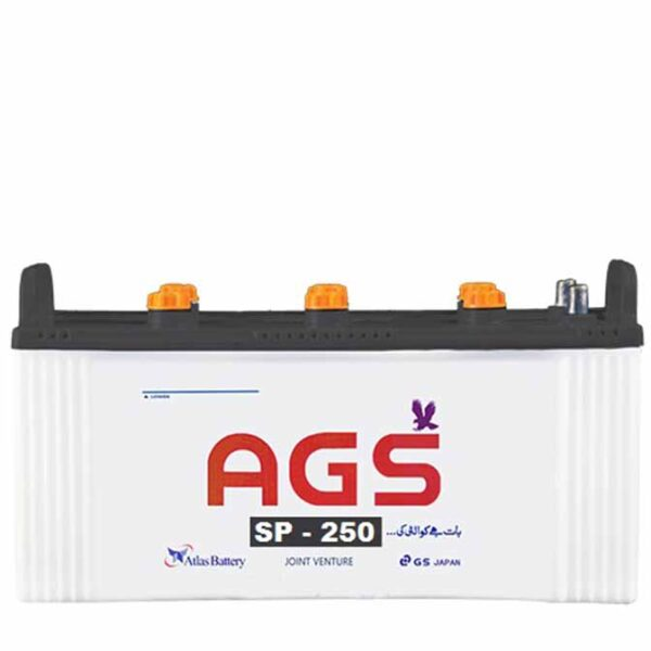 SP250_12_VOLTS_27_PLATES_175_AH_AGS_BATTERY_LEAD_ACID_PAKISTAN, ags 250 , ags sp 250, ags 175 ah , ags sp series , ags sp 250 in lahore , ags sp 250 in islamabad , ags sp 250 in rawalpindi, ags sp 250 in karachi, ags 27 plate battery