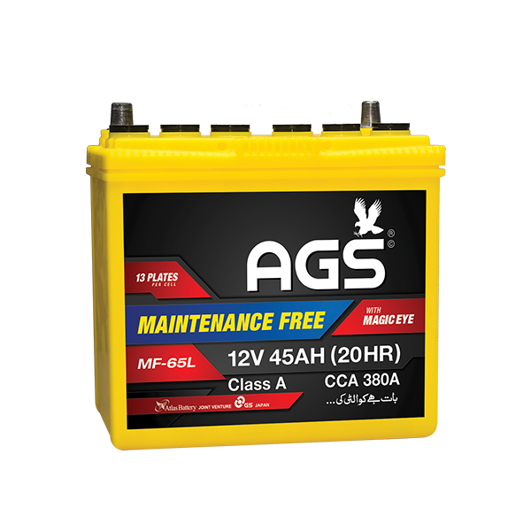 ags mf 65 L, ags 65L mf, ags 65, ags 13 plates, ags 45 ah, gli battery , ags battery in islamabad, ags battery in isb , ags battery in lahore, ags battery in lhr, ags battery in karachi , ags battery in karaachi , ags battery in multan, ags 13 plate battery , ags 45 ah battery